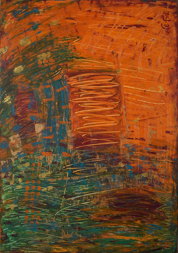 Abstract Orange 2