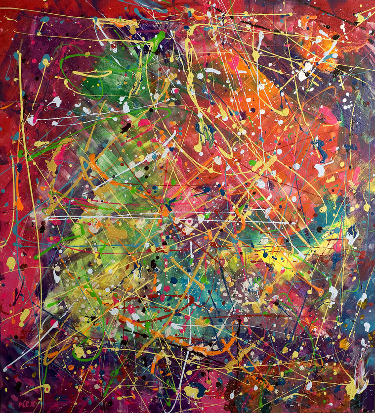 Celebration of colors, Collection of the artist