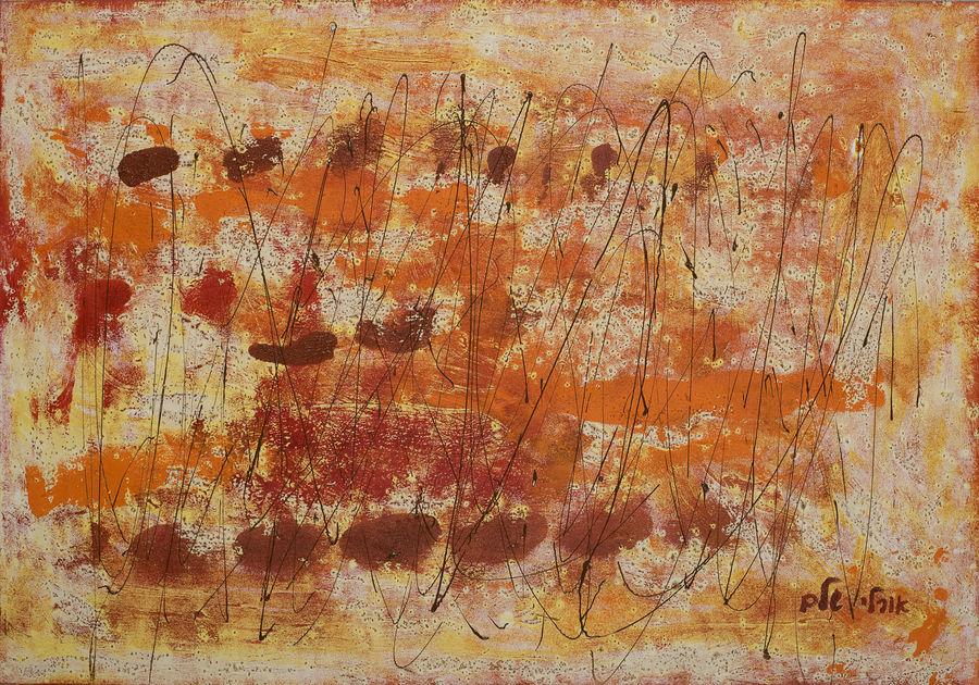 Orange abstract 10