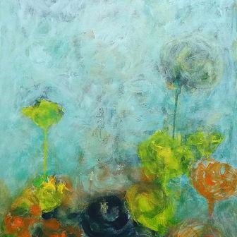 פרחים בערפל