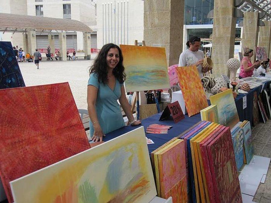 2010 יריד מכירה של אמנים במודיעין