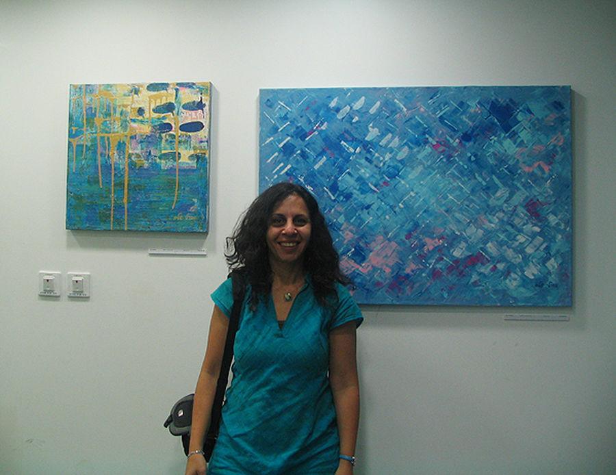 """2010 בתערוכת """"כחול""""  ברונטל מודיעין"""